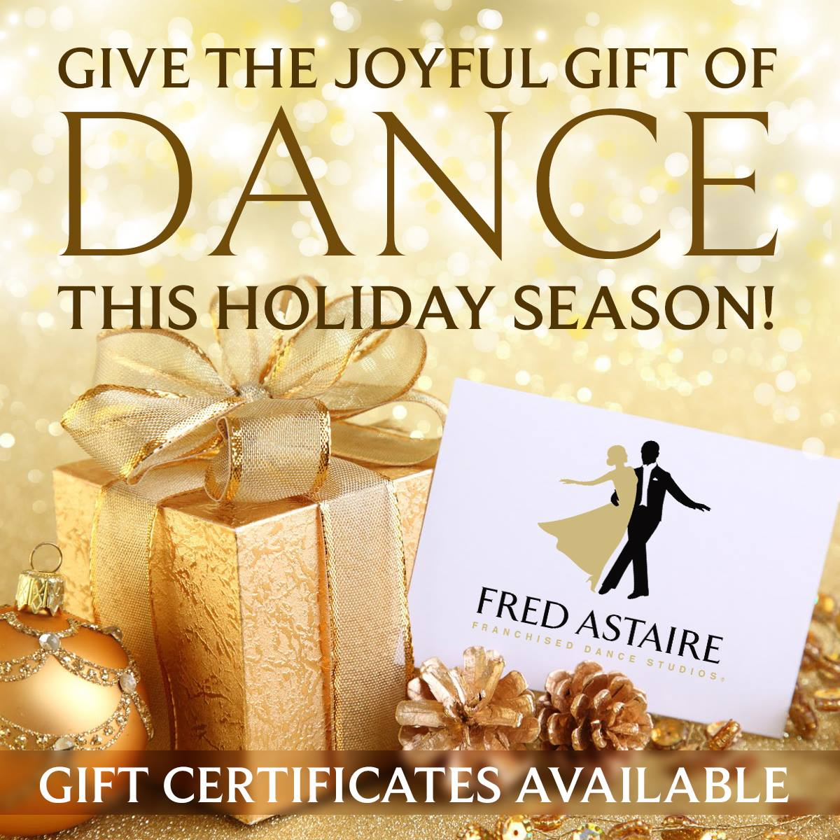 Deluxe 5 private dance lessons gift certificate fred astaire deluxe 5 private dance lessons gift certificate xflitez Gallery